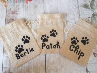 Doggie treat bags